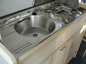 VW T4 Holdsworth Vision Sink and Cooker