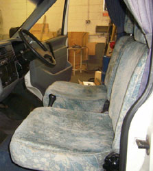 VW T4 Holdsworth Vision Front Seats