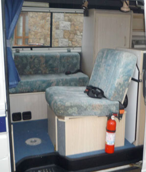 VW T4 Holdsworth Vision Rear Seat Bed