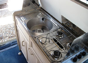 VW T4 Holdsworth Vision Cooker  and Sink
