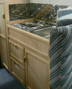 VW T4 Holdsworth Vista Cooker and Sink